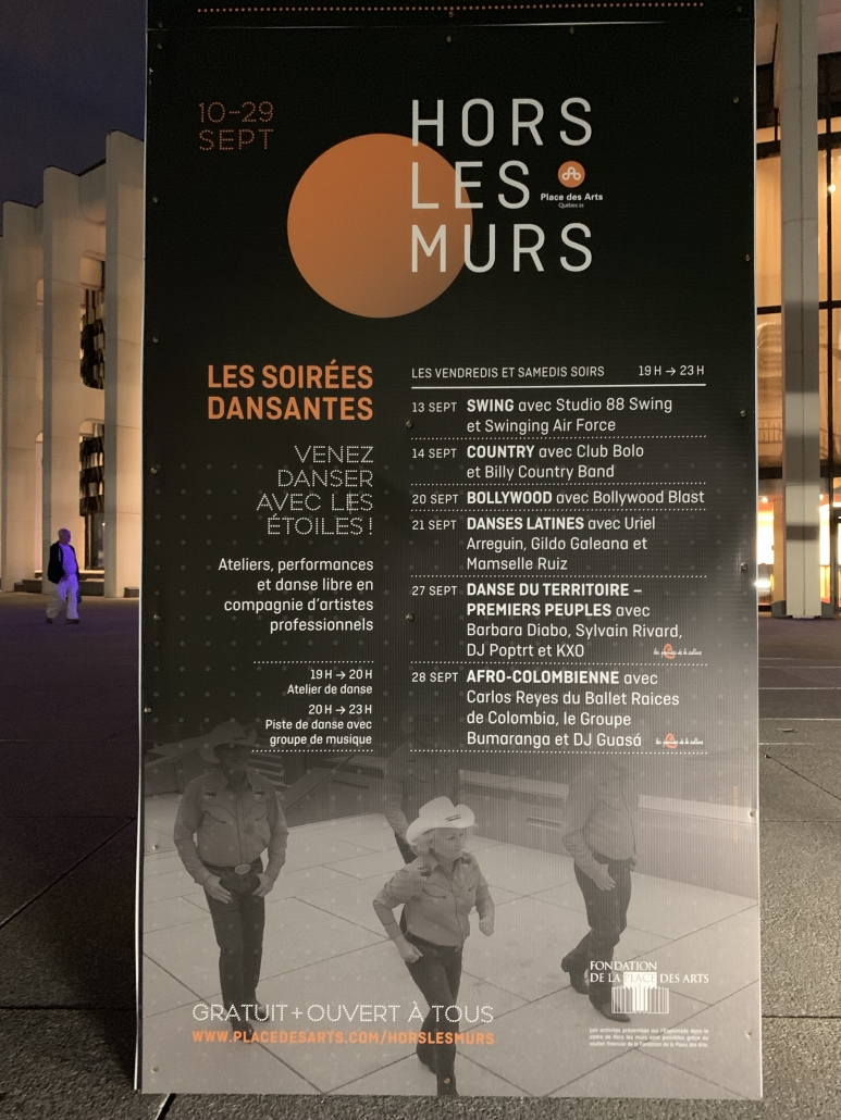 Club Bolo Place des Arts Hors les Murs 15 septembre 2019